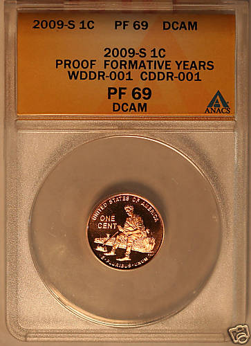 Proof 2009 Doubled Die Lincoln Cent #01